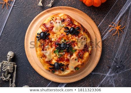 ハロウィン 怖い 前菜 装飾された チーズ ストックフォト © furmanphoto