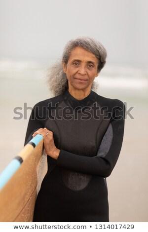 мнение старший женщины Surfer Постоянный Сток-фото © wavebreak_media