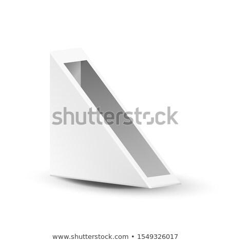 окна уличной еды треугольник Бутерброды вектора пусто Сток-фото © pikepicture