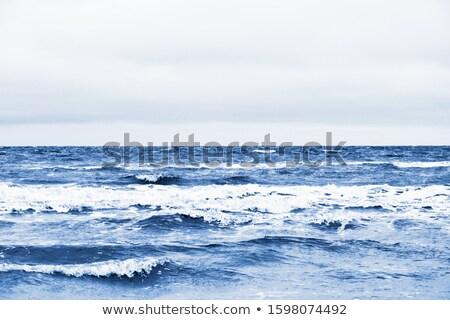 классический синий мрачный океана волны цвета Сток-фото © katya_sorokopudo