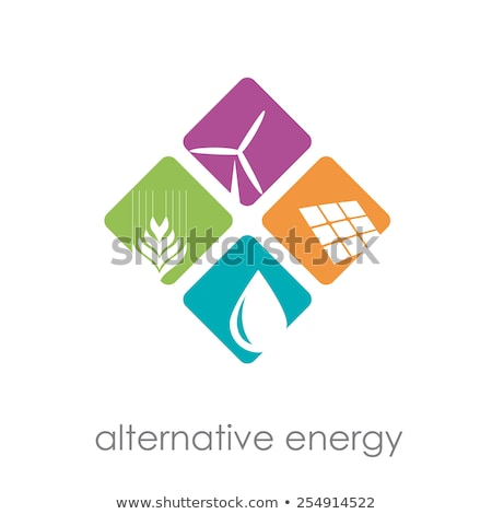 Alternative energy abstract concept vector illustration.. Stock photo © RAStudio