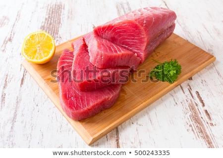 Atún peces mercado frescos alimentos mar Foto stock © boggy