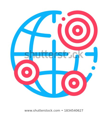 Terremoto ícone vetor ilustração assinar Foto stock © pikepicture