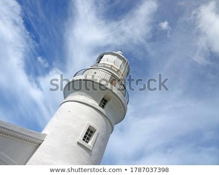 farol · ilha · bancos · Carolina · do · Norte · céu - foto stock © ca2hill