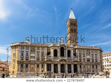 Santa Maria Maggiore Church Stock photo © aladin66
