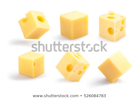cube of cheese Stock photo © glorcza