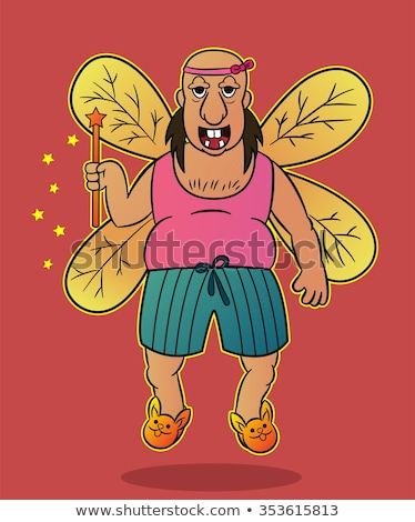 fat fairy Stock photo © ancello