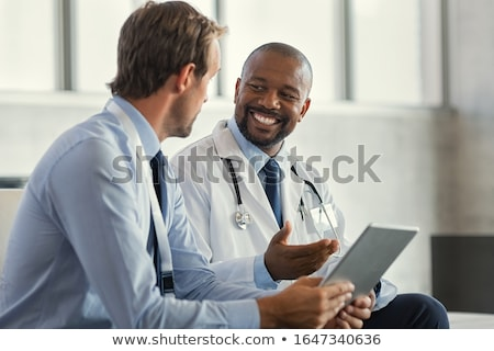 doctor and businessman stock photo © leeser