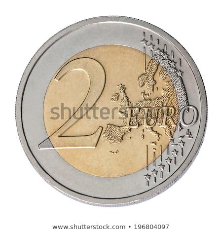Fünfzig Euro Münzen drei unterschiedlich Hintergrund Stock foto © marekusz