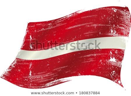 grunge flag latvia stock photo © hypnocreative