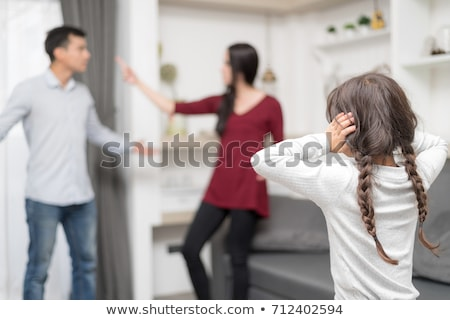 aile · çatışma · adam · kadın · çift · hayat - stok fotoğraf © mammothis