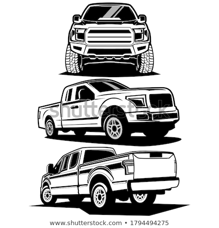 грузовика автомобилей транспорт серебро движения двигаться Сток-фото © lkeskinen