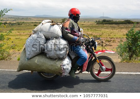 Man riding his bike Stock photo © photography33