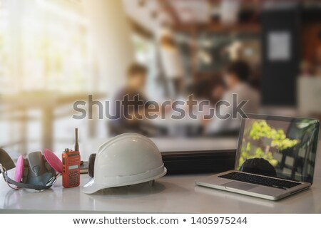 Plumbers in an office Stock photo © photography33