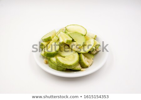 Courgette/zucchini. Isolated on white. Stock photo © bloodua
