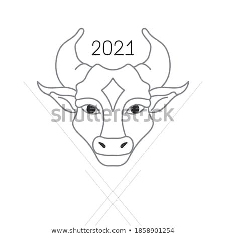 cartoon buffalo ny stock photo © blamb