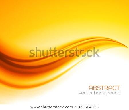autumn background with orange drapery Stock photo © marinini