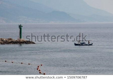 Boats in Adriatic sea Stock photo © Alenmax