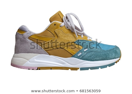 elegant female sneaker isolated on white stock photo © gsermek