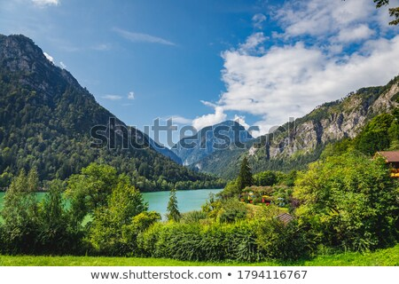 Highway among hills and mountains in Germany. Stock photo © rglinsky77
