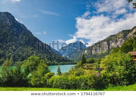 Autostrady wzgórza góry Niemcy wysoki zielone Zdjęcia stock © rglinsky77