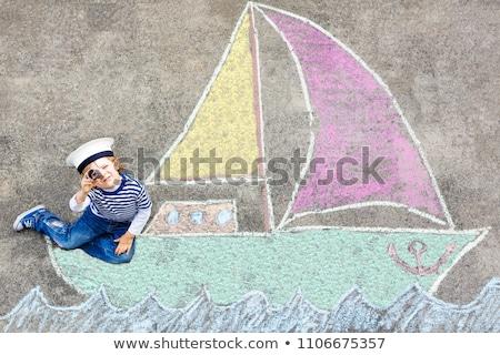 playground boat stock photo © itobi