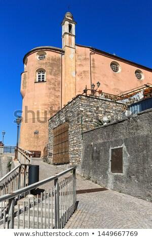 Stock photo: Liguria - promenade in Sori
