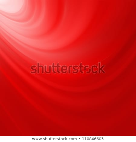 Red smooth twist light lines background. EPS 8 Stock photo © beholdereye