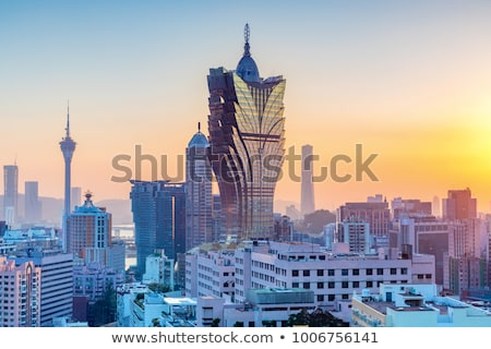Sunrise in Macau Stock photo © joyr