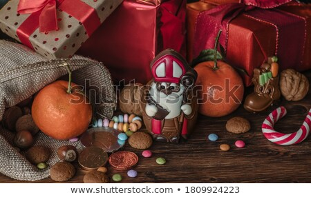 chocolate santa Stock photo © FOKA