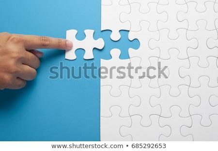 solução · homens · em · pé · escada · conceito · conexão - foto stock © 4designersart