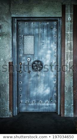 starych · metal · drzwi · podróży · architektury · historii - zdjęcia stock © liufuyu