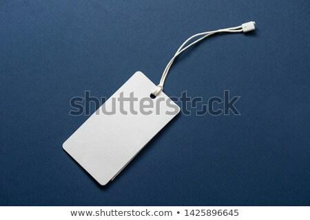 Tag rosolare string prezzo regalo vendita Foto d'archivio © oly5