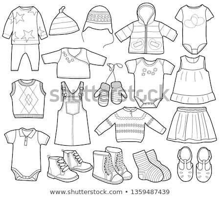 Children's knitted trousers Stock photo © RuslanOmega