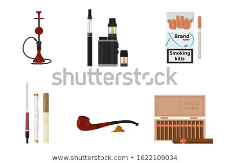 Cigar With a Wooden Mouthpiece Stock photo © PetrMalyshev