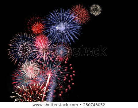 Stock photo: golden fourth of July