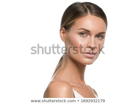 Beautiful face stock photo © stryjek