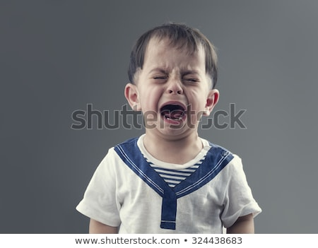Portrait of boy crying Stock photo © zzve