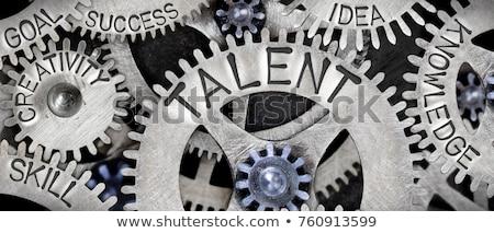 képzés · fejlesztés · oktatási · üzlet · szó · világoszöld - stock fotó © tashatuvango