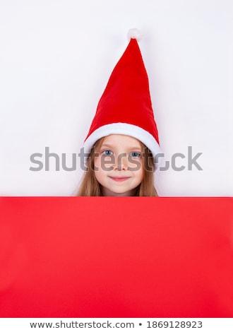 Christmas shopping cutie. Stock photo © lithian