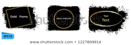 abstract artistic golden settings icon stock photo © pathakdesigner