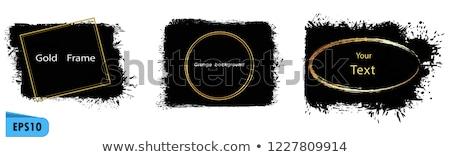 Foto stock: Abstrato · artístico · dourado · ícone