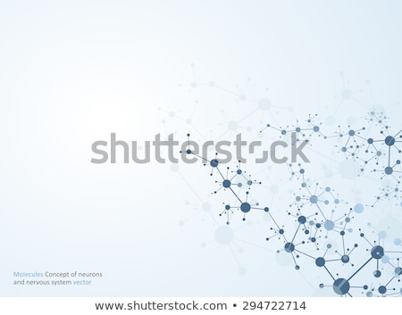 Chromosome résumé science numérique microscope humaine Photo stock © 4designersart