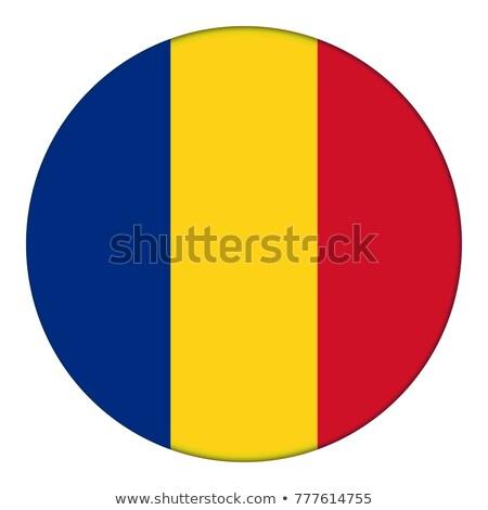 Rumania bandera botón negro teclado Foto stock © tashatuvango