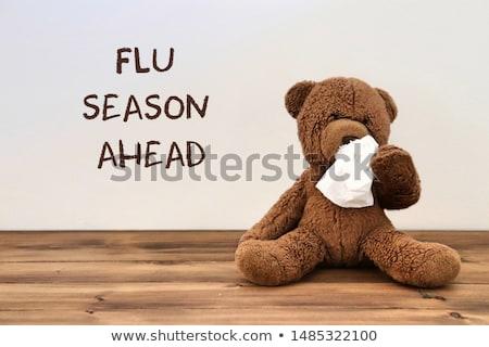 грипп сезон сезонный грипп холодно вирус Сток-фото © Lightsource
