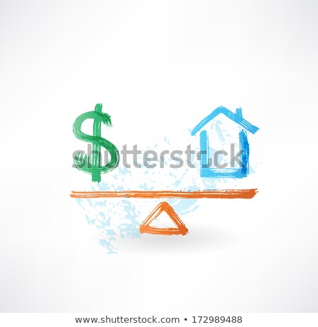 Justice Scale Grunge Stock photo © Lightsource