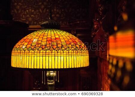 Lamba tablo yalıtılmış beyaz ışık dizayn Stok fotoğraf © smuki