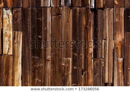California vecchio lontano ovest legno texture Foto d'archivio © lunamarina