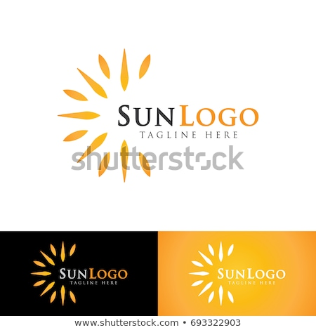 Stock photo: Logo for skin tanning