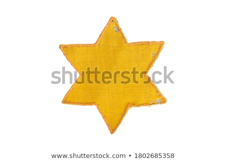 Jewish Yellow Star Stock photo © michaklootwijk